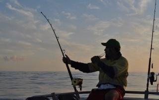 Dream holiday fishing trip