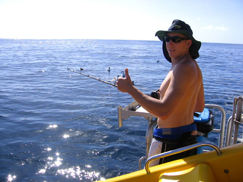 Abrolhos island fishing charters