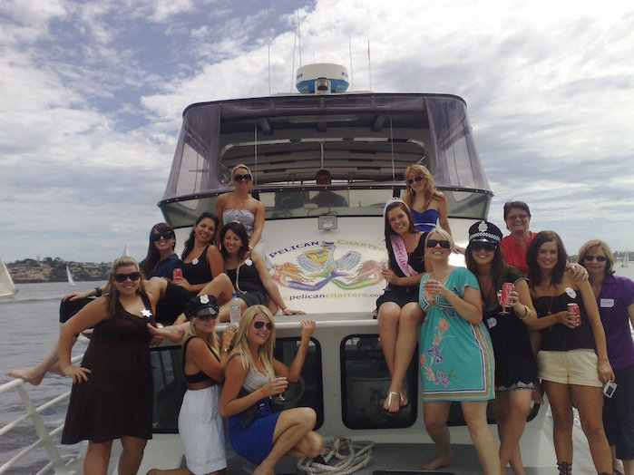 Hens night boat hire