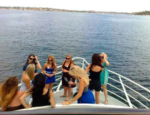 Hens night boat cruise