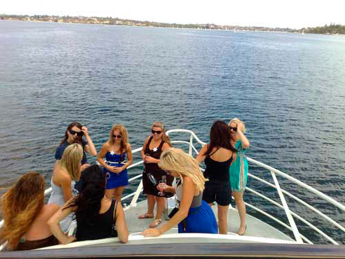 Hens night boat cruise Perth