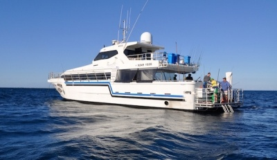 Abrolhos islands boat charters