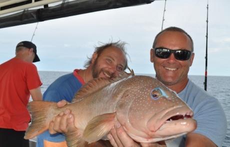 Abrolhos islands fishing