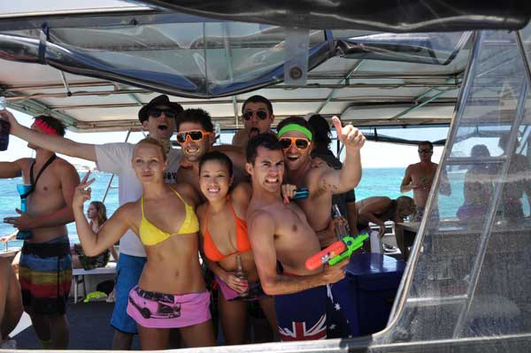 Party boat perth
