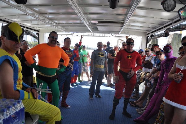 Party boat hire Perth