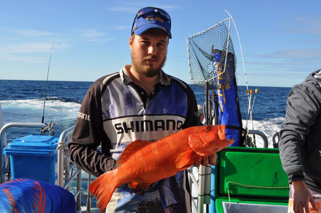 abrolhos island fishing spot