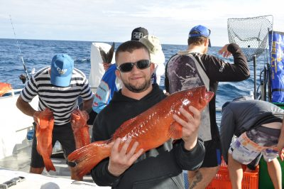 abrolhos islands coral trout fishing charters