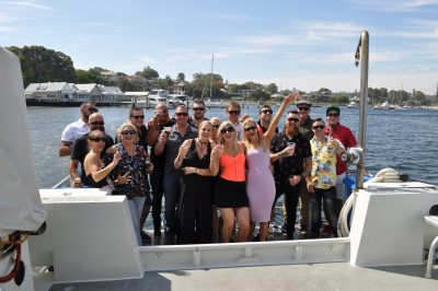 river cruise birthday perth